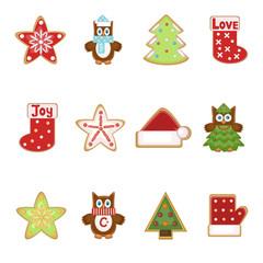 Christmas set of cookies