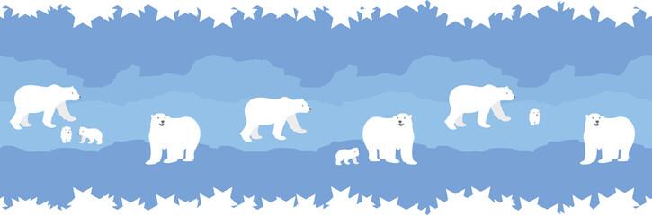 polar bear border