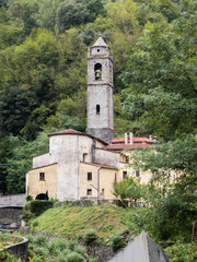 The village of Cardoso in Alta Versilia