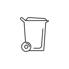 Washing powder box icon