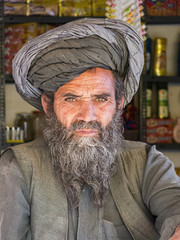 A Pasthun Shopkeeper