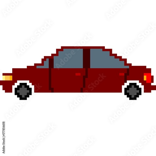 Vehicle Car Pixel Art Stock Photo And Royalty Free Images On