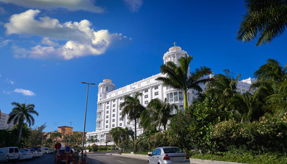 Wall Mural - Cancun Kukulcan boulevard in Hotel Zone