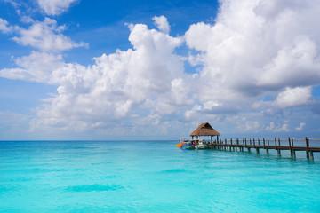 Cozumel island beach Riviera Maya Mexico