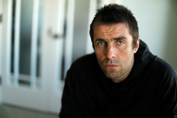 """Musician Gallagher poses for a portrait while promoting his upcoming solo album """"As You Were"""" in Santa Monica"""