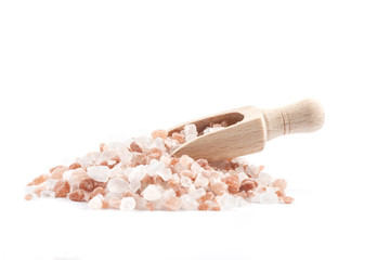Salt Scoop on Pile