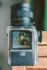 Medium format viewfinder