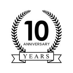 10th anniversary years