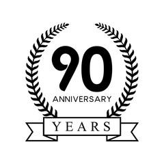 90th anniversary years