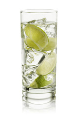 Fototapete - water and lime