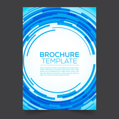 Brochure Template with backgraund abstract