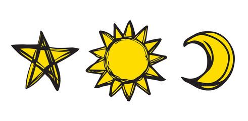 Drops. Vector illustration