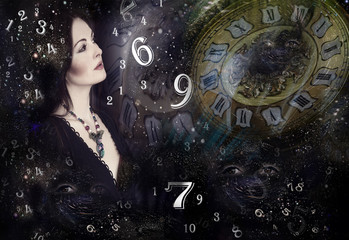 Woman ,numerology and universe