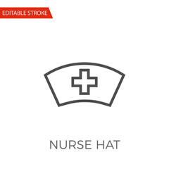 Nurse Hat Vector Icon
