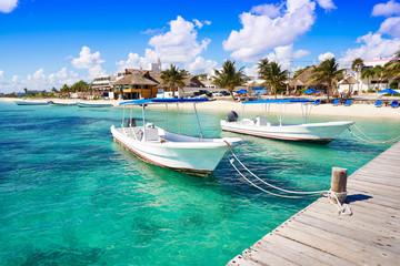 Puerto Morelos beach in Mayan Riviera