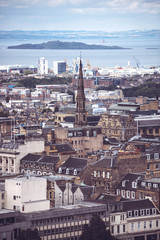 Picturesque view of Edinburgh, Scotland