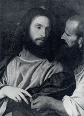 The Tribute Money (Titian, ca. 1516)