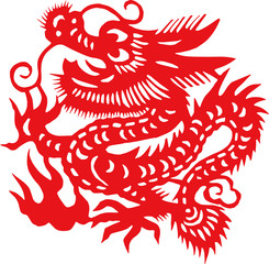 Chinese traditional Chinese zodiac pattern