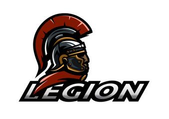 Roman Legionnaire logo.