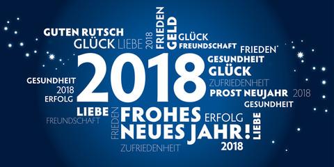 Wunsche furs neue jahr 2018