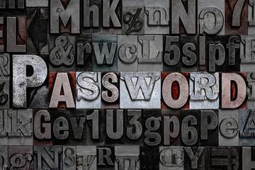 Letterpress Password