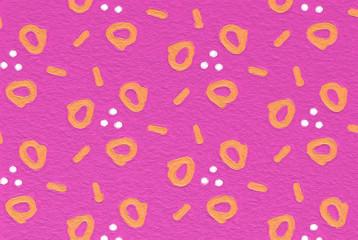 easy arabesque pattern background - kid art style