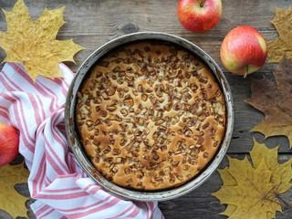 Apple pie. Charlotte.
