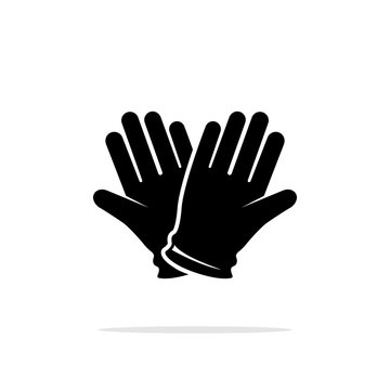 Icon of protective gloves.