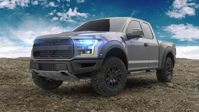 American Pickup Truck