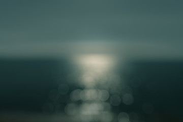 minimalist out of focus view of a body of water