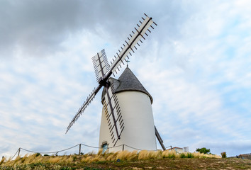 Windmill at Jard-sur-mer, Vendée, France
