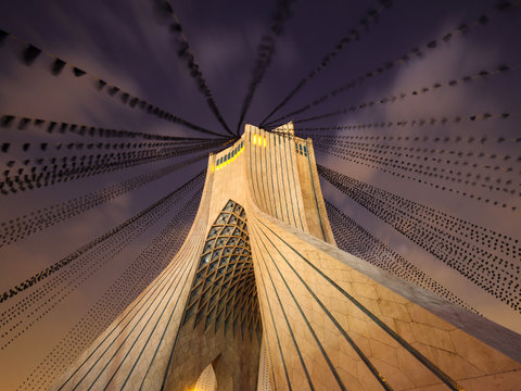 Azadi Tower, Iran.