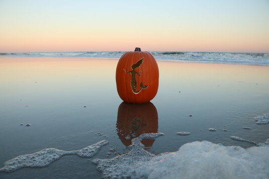 Mermaid Pumpkin