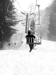 ski lift landscape