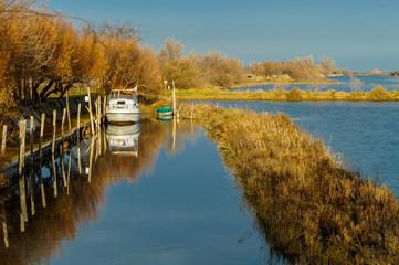canale barca Jesolo