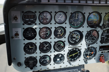 Helicopter instrument panel