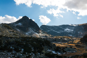 Landscapes from Rila Mountain, Bulgaria