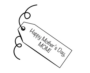 Happy Mother's Day Mom Tag