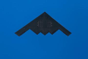 B2 Stealth Bomber Overhead