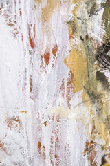 Abstract painting detail texture background with brushstrokes