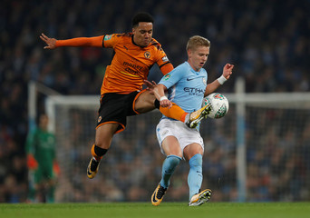 Carabao Cup Fourth Round - Manchester City vs Wolverhampton Wanderers