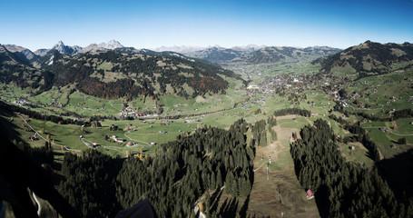 Gleitschirm-Panorama