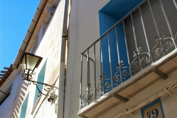 Narrow Street in Chelva, Valencia