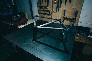 Custom made bike frame
