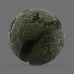 Green river moss