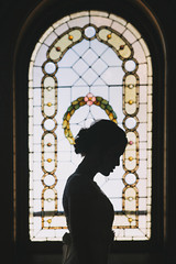 Stained Glass Silhouette