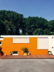 Orange House Facade