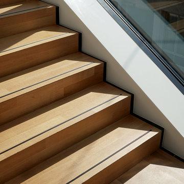Modern stairway design