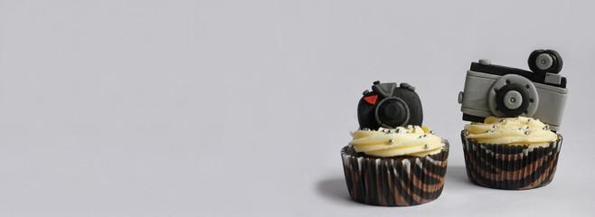 Camera cupcake