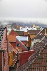 Rooftops of Bergen, Norway